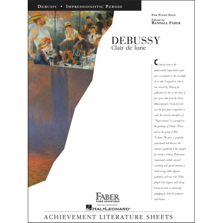 This Is Halloween Piano Solo (Faber Piano Adventures Debussy Clair De Lune Piano Solo - Faber)