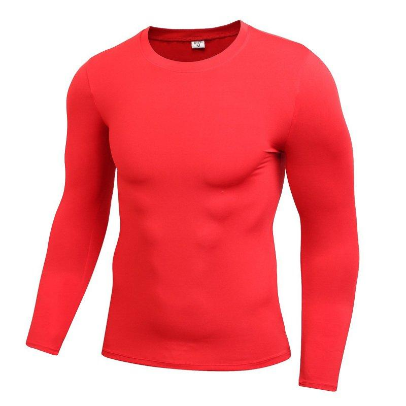 Details about  /Mens Compression Base Layer Long Sleeve T-shirts Fitness Casual Sports Tee Tops