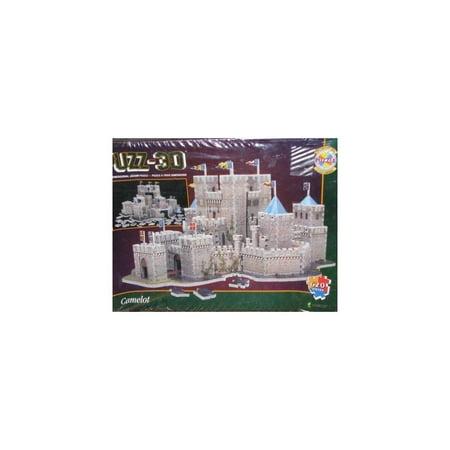 Wrebbit Puzz 3d Puzzle - Puzz 3D Camelot Puzzle, 620 pieces by Wrebbit by Wrebbit