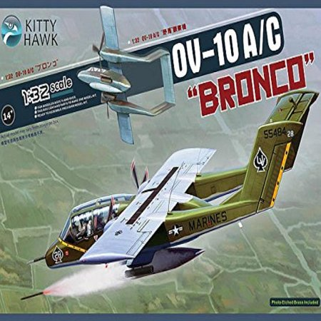 KTH32004 1:32 Kitty Hawk OV-10A OV-10C Bronco [MODEL BUILDING (Uss Kitty Hawk Cv 63 Model Kit)