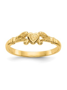 1ae6a4ec1 Product Image Baby and Children 14K Gold Heart Ring (yellow-gold)