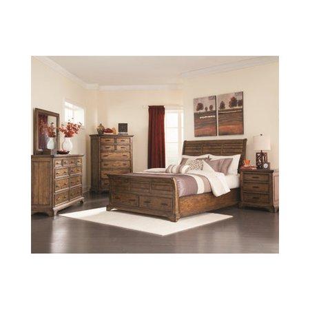 Windward Wildon Home Elk Grove Sleigh Customizable Bedroom Set  188 Product Photo