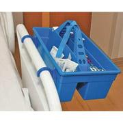 HEATHROW SCIENTIFIC HS120021 Tray, Polypropylene, Blue