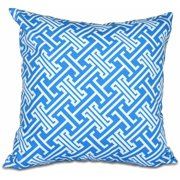 "Simply Daisy 16"" x 16"" Leeward Key Geometric Print Pillow"