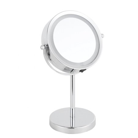 Keenso Makeup Led Illuminated Magnifying Round Dual Sided Vanity Cosmetic Mirror Make Up Mirrors