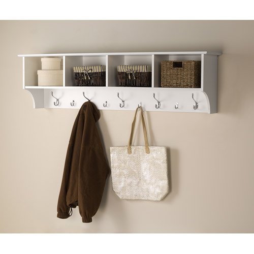 "Prepac Hanging Entryway Wall Shelf, 60"" Wide"