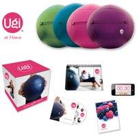 Ugi At-Home Workout Program Kit, 6 lbs, Purple