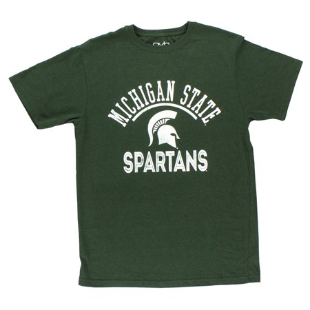 Old varsity mens michigan state spartans t shirt green for Michigan state spartans t shirts