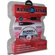 DJ-Tech XLR-2-USB Audio Cable Adapter XLR Audio - 16.40 ft