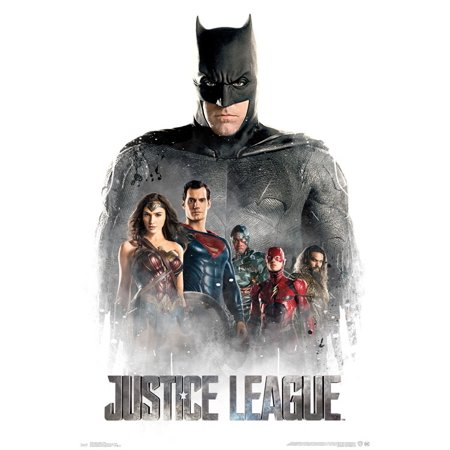 Justice League Superman Wall Poster 22.375