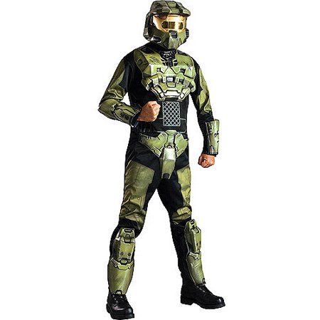Deluxe Green Lantern Costume (Halo Masterchief Deluxe Adult Halloween)