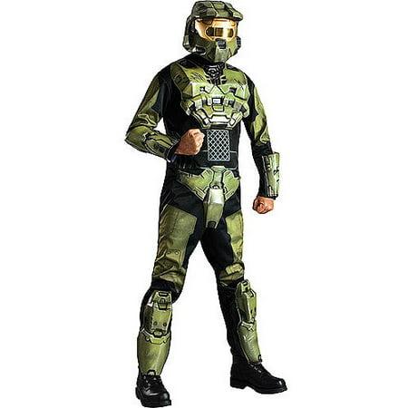Halo Masterchief Deluxe Adult Halloween Costume](Halo 5 Halloween Costumes)