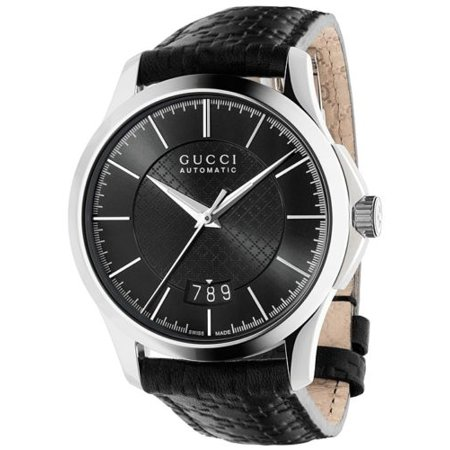 Gucci G-Timeless Automatic Black Strap Unisex Watch (J12 Automatic Unisex Watch)