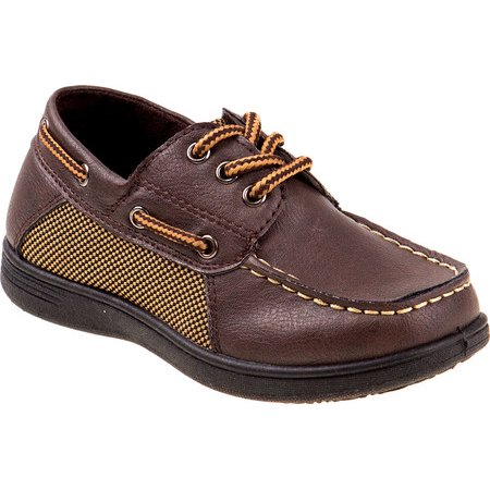 Josmo Toddler Boys Boat Shoes With Laces