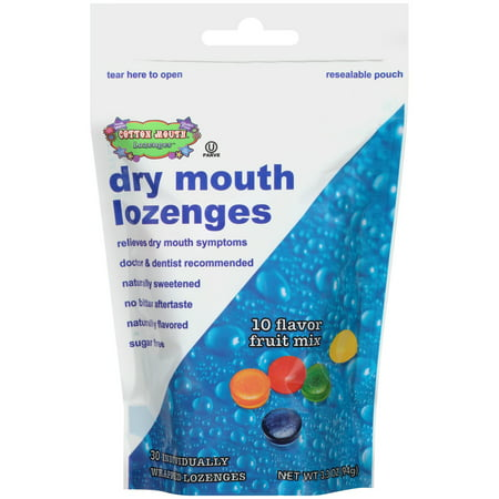 (Cotton Mouth Lozenges Dry Mouth Lozenges 30 ct Pouch)
