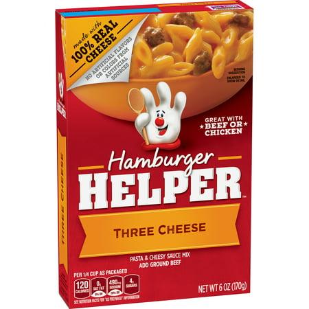 Betty Crocker Hamburger Helper  Three Cheese Hamburger Helper  6 Oz Box