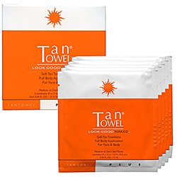 TanTowel® Half Body Plus Self-Tanning 5 Pack Towelettes | Belk