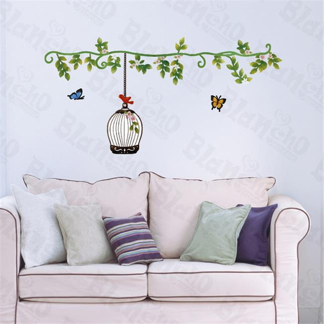 Sping Comes - Hemu Wall Decals Stickers Appliques Home Decor