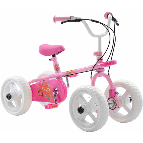 "10"" Quadrabyke Kiss Girls' Bike"