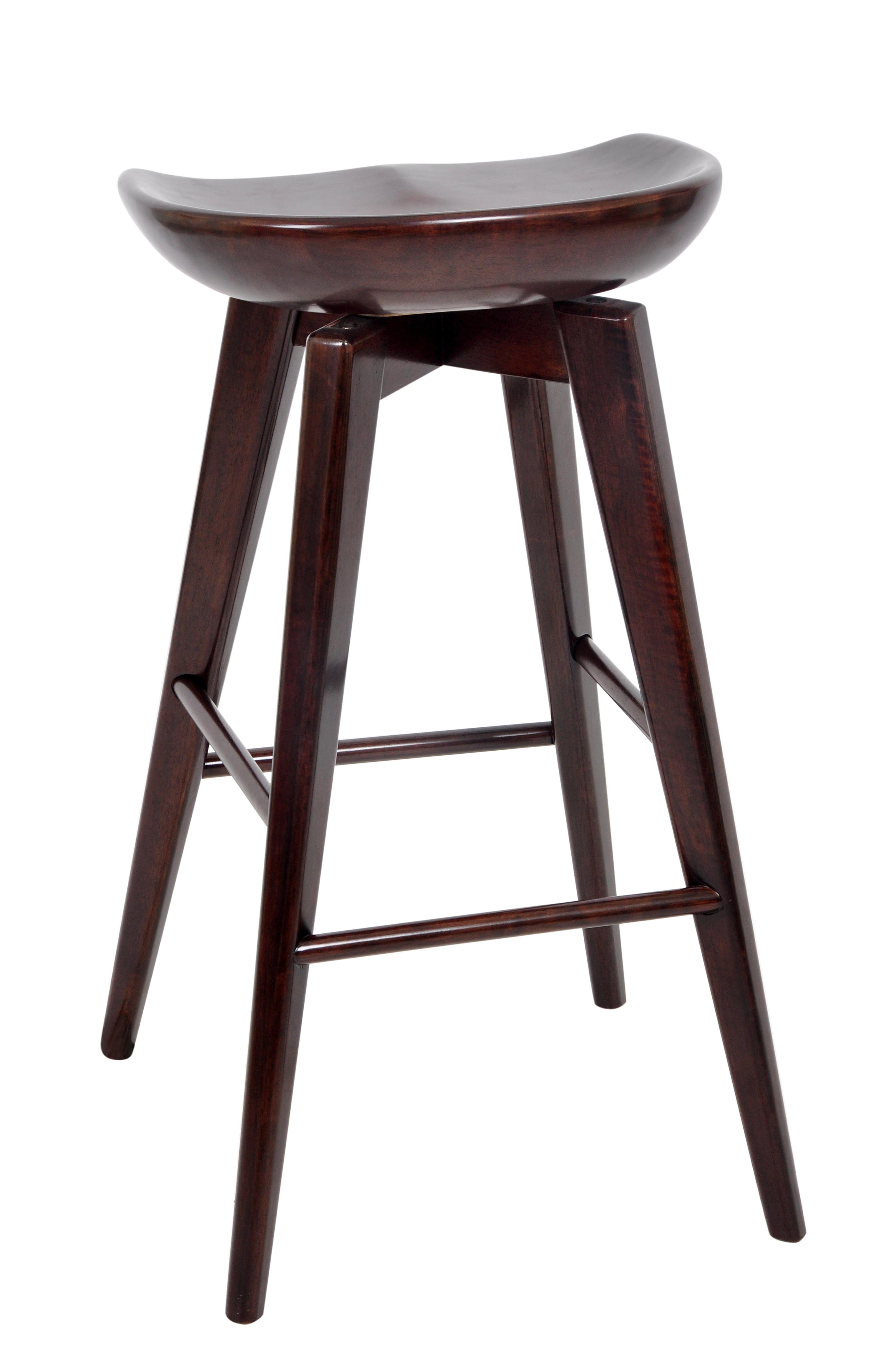 Phenomenal Boraam Bali 29 Wood Swivel Stool Multiple Finishes Ncnpc Chair Design For Home Ncnpcorg