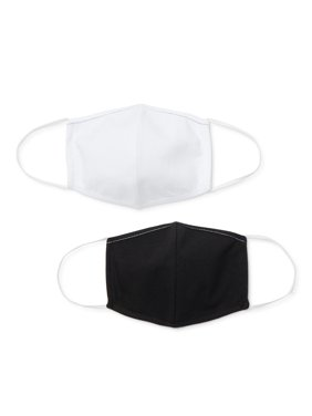 Adult Reusable Face Masks, 2-pack