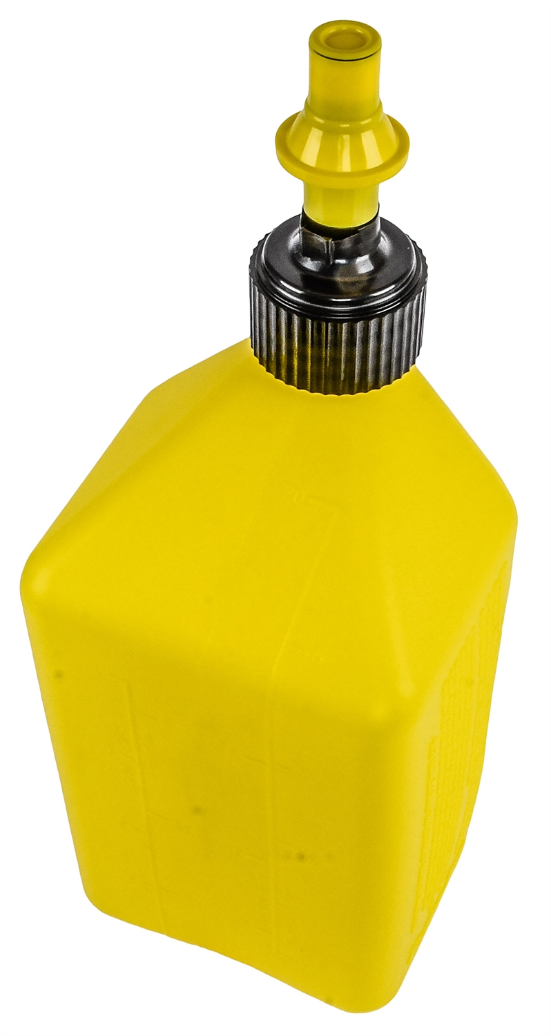 JEGS 80223 Fuel Jug with Spill-Free Fast Flow Nozzle