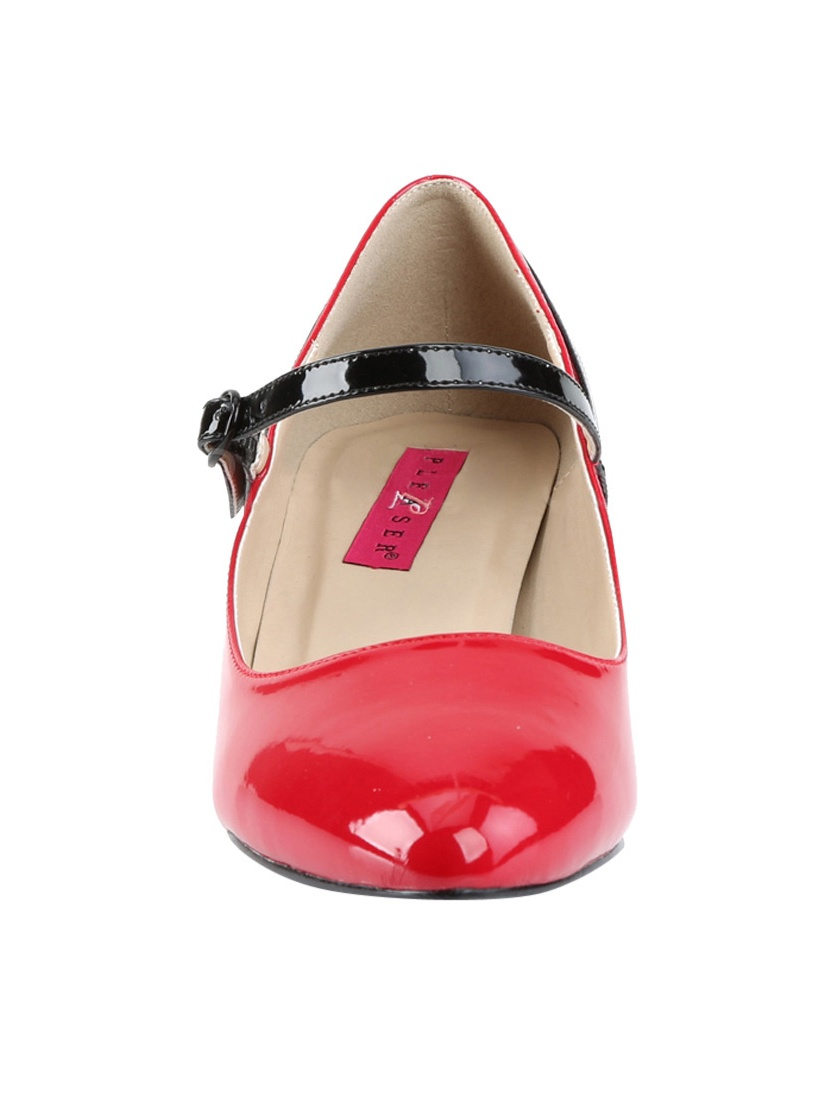 Women's Pleaser Pink Label Fab 425 Mary Jane Pump