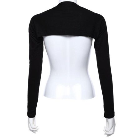 JEFFENLY Bolero Shrug Womens Long Sleeved Bolero-Style Arm Sleeves - Hijab Accessories