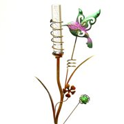 """Regal Art  and  Gift 10374 - 35"""" x 10"""" Hummingbird Stake (Color Changing) Solar LED Light"""