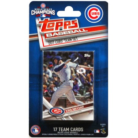 Topps Chicago Cubs 2016/17 Team Set Baseball Trading Cards - No Size Chicago Cubs Baseball Cube