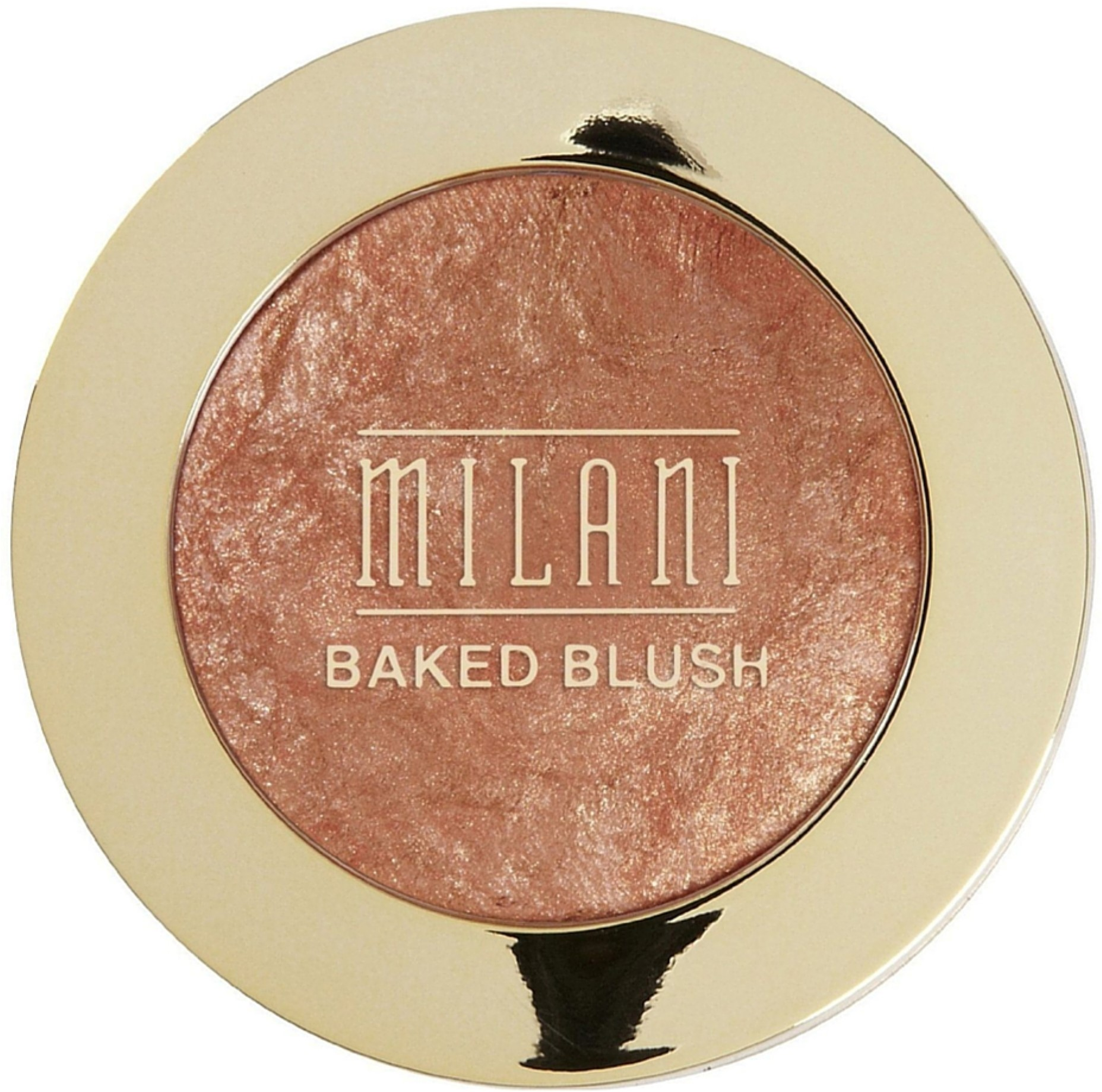 Milani Baked Powder Blush, Bellissimo Bronze 0.12 oz (Pack of 3)