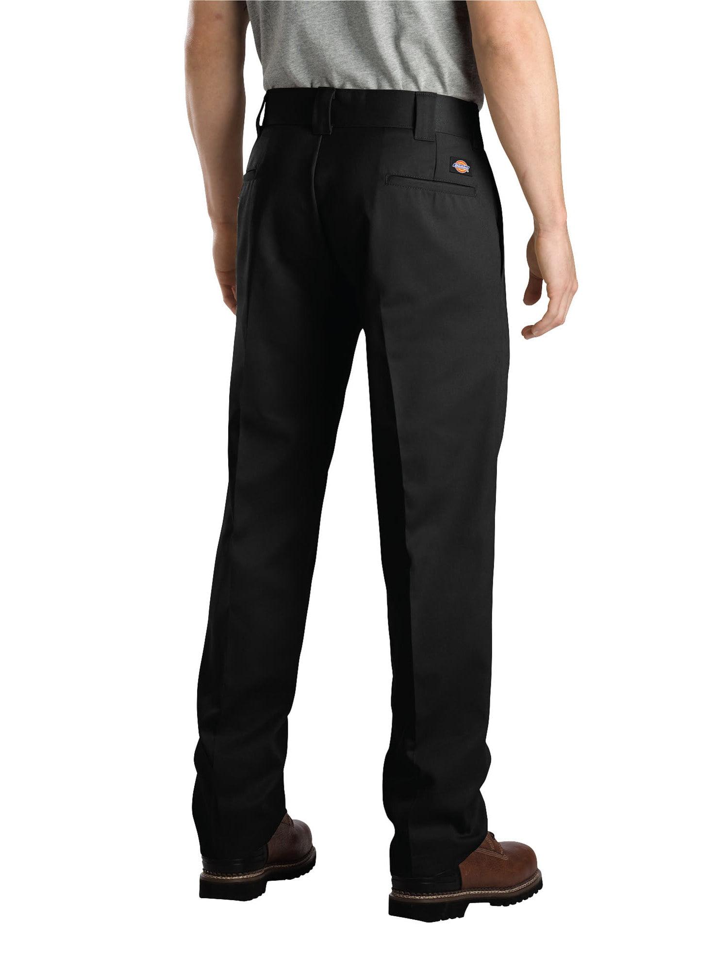 Dickies WP873 Men/'s Slim Straight Work Pants Black.