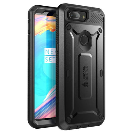 OnePlus 5T Case SUPCASE Award-Winning Full-Body Drop-Proof Case with Built-in Screen Protector and Rotating Belt Clip Holster for OnePlus 5T (2017) | Unicorn Beetle Pro Series