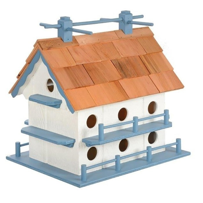 Kunkle Holdings LLC Wooden Martin Bird House