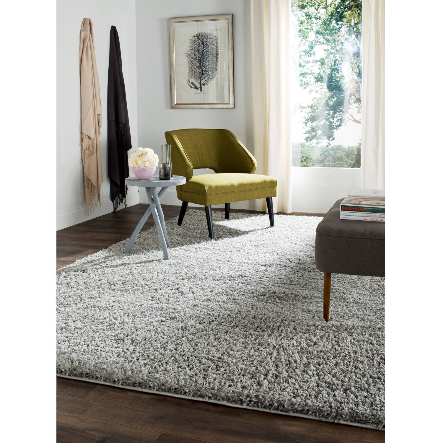 Safavieh Lavena Power-Loomed Shag Area Rug or Runner