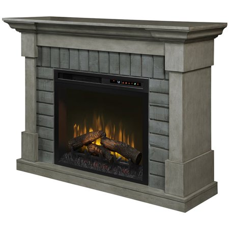 Halloween Decorating Ideas For Fireplace Mantel (Dimplex Royce Electric Fireplace Mantel with Logs)