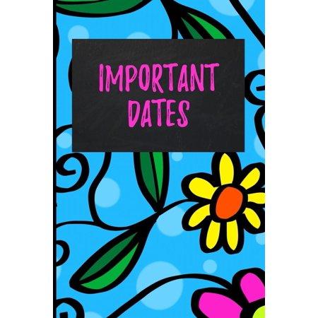 Important Dates: Blank Perpetual Calendar (Paperback)