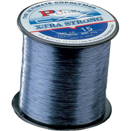 P-Line CXX X-tra Strong Fishing Line, 370yds, 40lbs, Smoke Blue by Generic