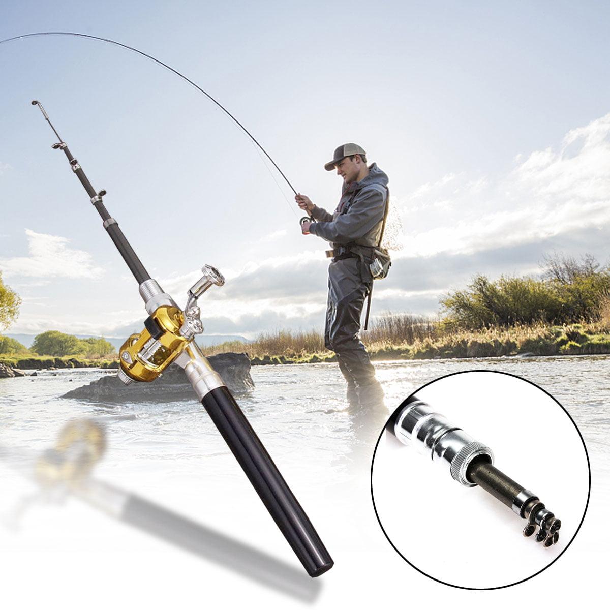Portable Pole Fish Pocket Different And Pen Rod Reel Fishing Rod Mini