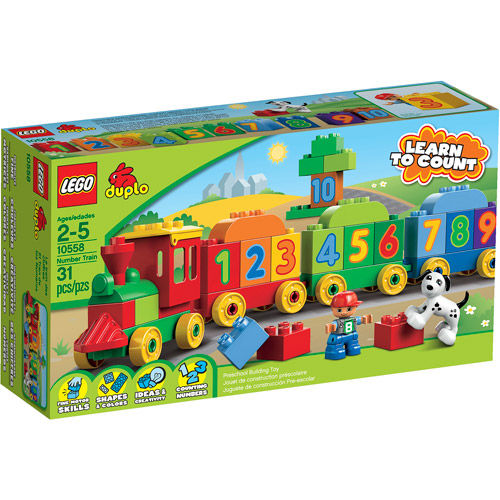 LEGO DUPLO Learning Play Number Train Play Set