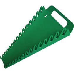 WRENCH RACK HOLDS 15PCS GREEN - Wrench Rack Holds