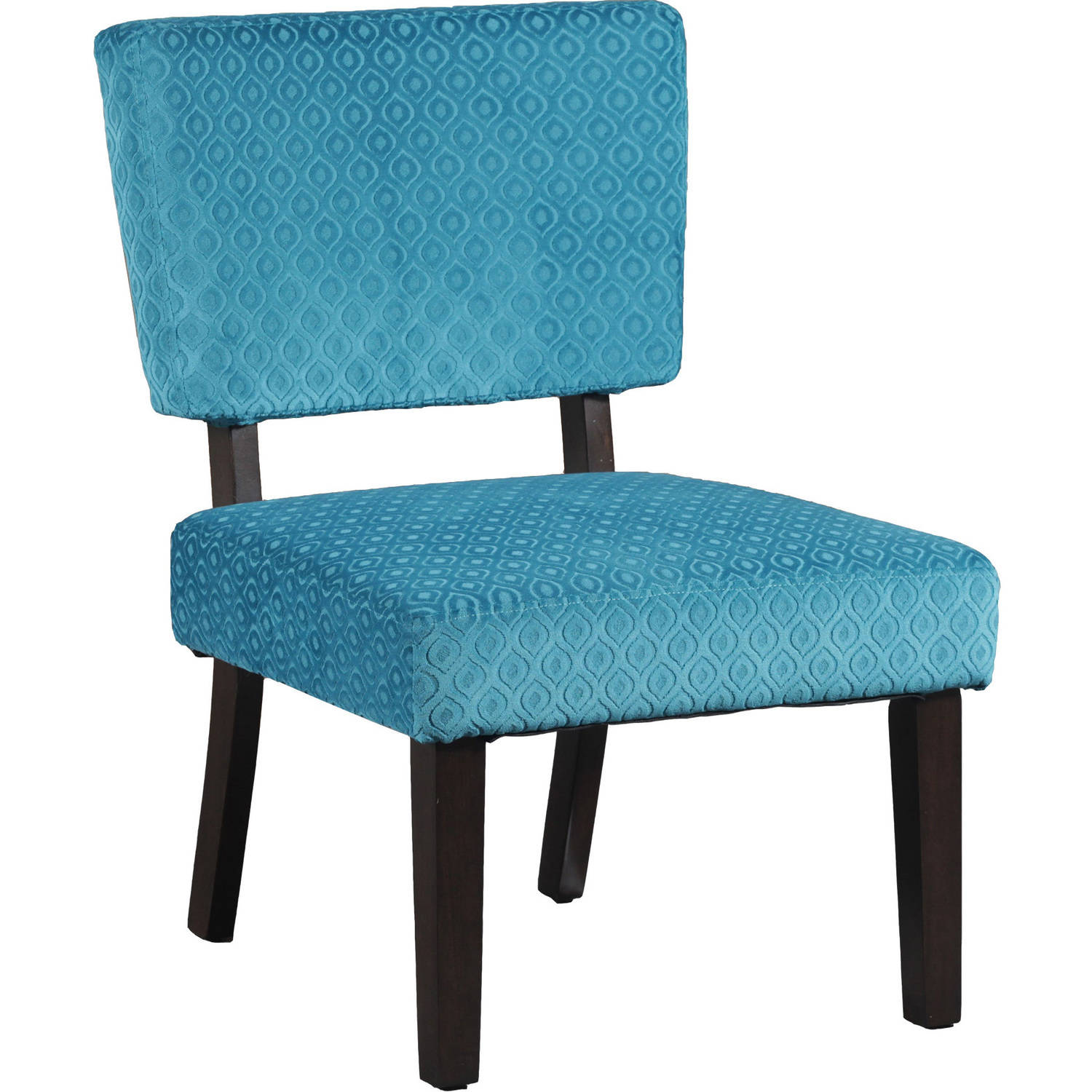 Taylor Teal Blue Accent Chair