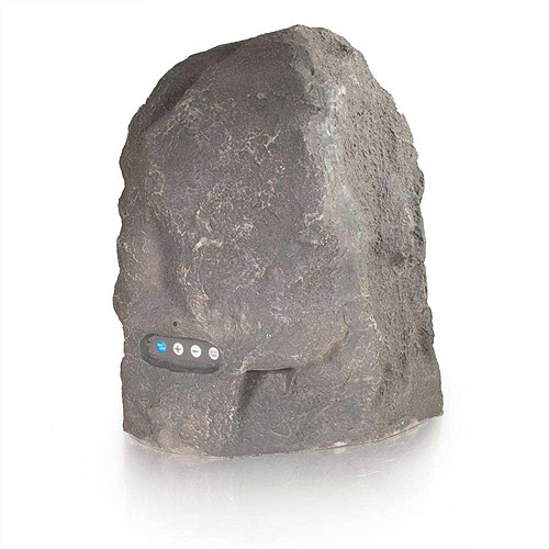 C2G Granite Wireless Rock Speaker with Dual Power Transmitter