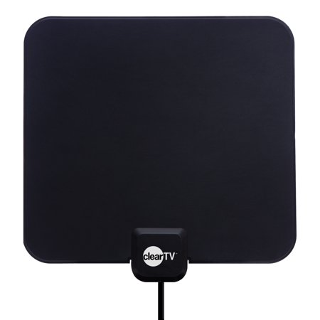 Clear TV HDTV Digital Indoor Antenna, Broadcast Network TV in HD (STAND NOT INCLUDED) ()