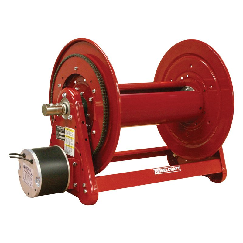 Reelcraft Heavy Duty Motor Driven 1 2 in. Hose Reel by Reelcraft