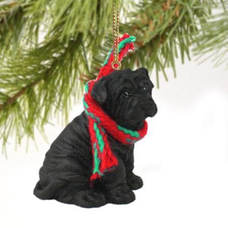 DTX40B Shar Pei Black Original Ornament