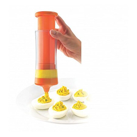 Msc International Joie 7 Piece Egg Maker For Mashing Yolks And Filling Deviled Eggs