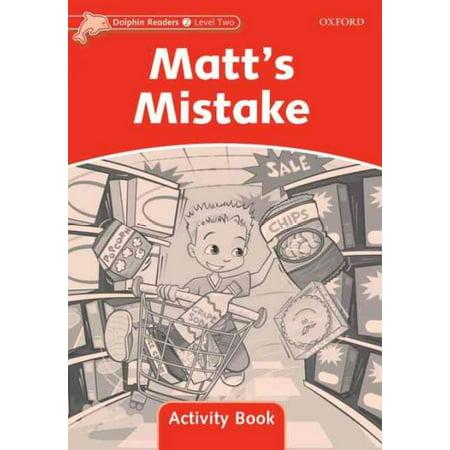 MATT?S MISTAKE NIVEAU: 2 (Activite D'halloween)