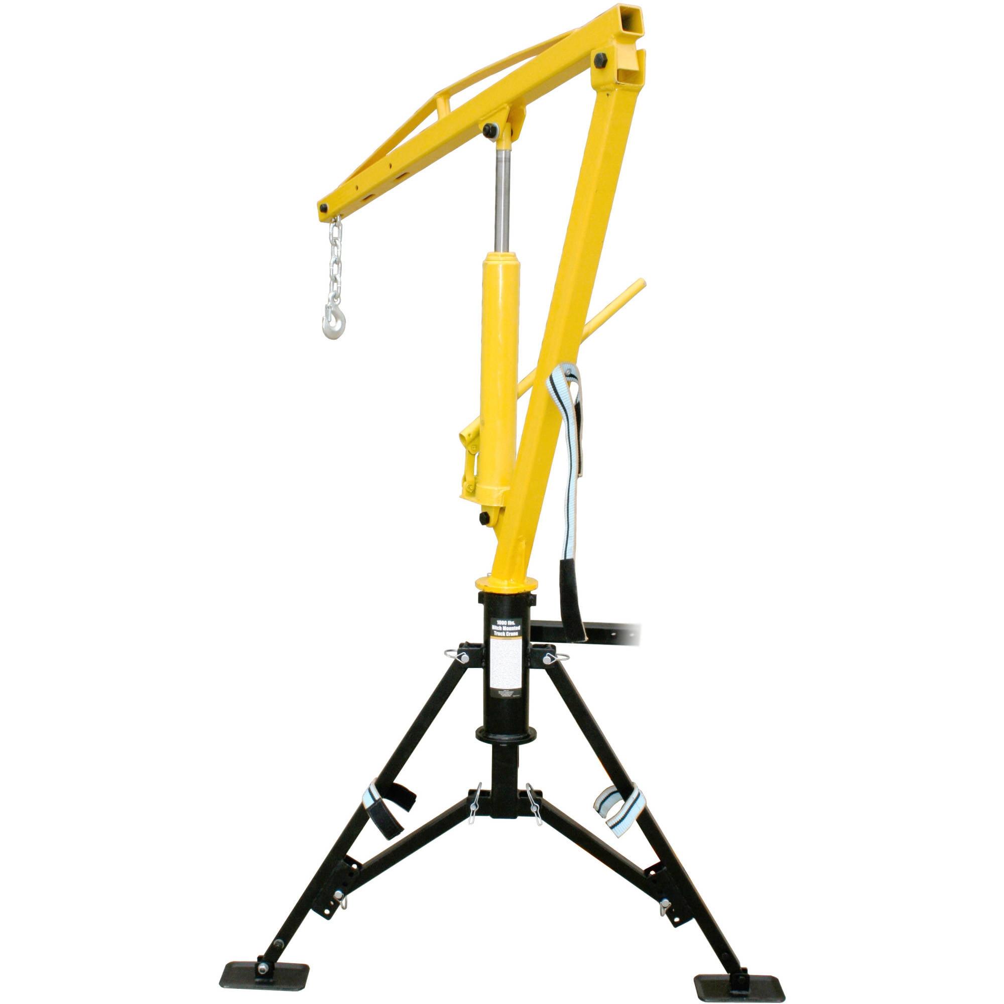 MaxxHaul 70238 Hitch Mount Hydraulic Crane