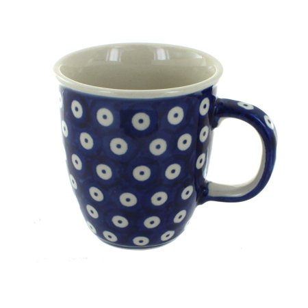 Polish Pottery Dots Coffee Mug